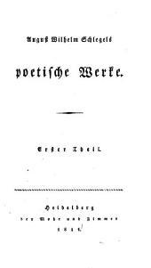 Poetische Werke: Band 1