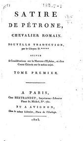 Satire de Pétrone, chevalier romain