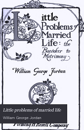 Little Problems of Married Life: The Baedeker to Matrimony