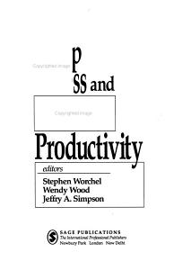 Group Process and Productivity PDF