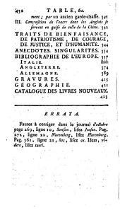 L'Esprit des journaux franc̜ais et étrangers: Volume57