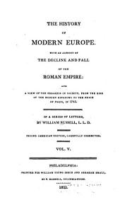 The history of modern Europe: Volume 5