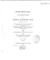 The Complete Poems of John Donne...