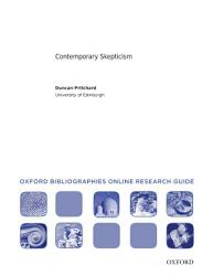 Contemporary Skepticism  Oxford Bibliographies Online Research Guide PDF