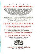 Bybels zakelyk woordenboek PDF