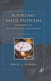 Boundary Value Problems: and Partial Differential Equations, Edition 6