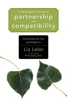 A Homeopathic Guide to Partnership and Compatibility PDF
