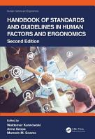 Handbook of Standards and Guidelines in Human Factors and Ergonomics  Second Edition PDF