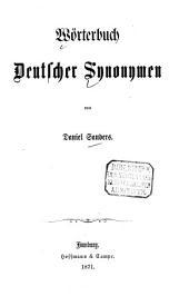 Wörterbuch deutscher Synonymen
