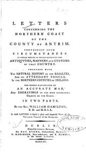 Letters concerning the Northern Coast of the County of Antrim