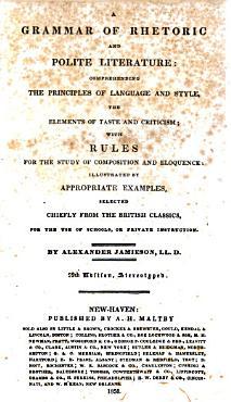 A Grammar of Rhetoric and Polite Literature PDF