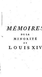 Mémoires de la minorité de Louis XIV: Volume2