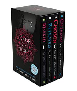 House of Night TP Boxed Set (books 1-4)