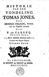 De historie van den vondeling Thomas Jones: Volume 1