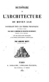 Dictionnaire de l'architecture du Moyen âge