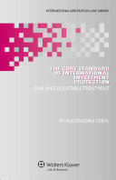 The Core Standard of International Investment Protection PDF