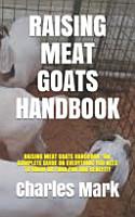 Raising Meat Goats Handbook PDF