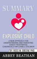 Summary of The Explosive Child PDF
