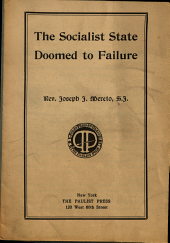 The Socialist State Doomed to Failure