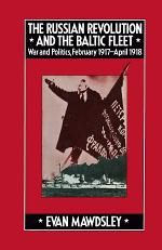 The Russian Revolution and the Baltic Fleet