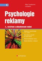 Psychologie reklamy: 4., rozšířené a aktualizované vydání