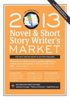 2013 Novel   Short Story Writer s Market PDF