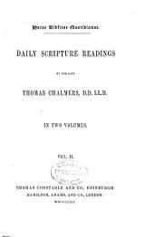Daily scripture readings: in two volumes, Volume 2