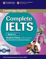 Complete IELTS Bands 4 5 Student s Book Without Answers with CD ROM PDF