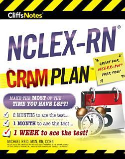 CliffsNotes NCLEX RN Cram Plan Book