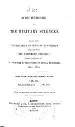 Aide-mémoire to the Military Sciences: Paleontology. - Zig-zag