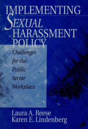 Implementing Sexual Harassment Policy PDF