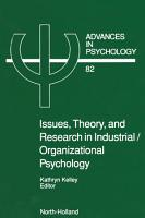 Issues  Theory  and Research in Industrial Organizational Psychology PDF