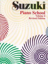 Suzuki Piano School - Volume 6 (Revised): Piano Part