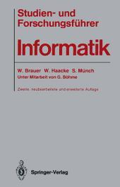 Studien- und Forschungsführer Informatik: Ausgabe 2