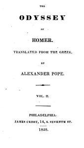 The Odyssey of Homer: Volume 2