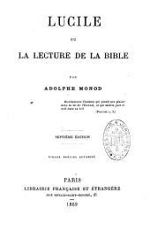 Lucile, ou La lecture de la Bible
