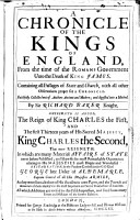Chronicle of the Kings of England PDF