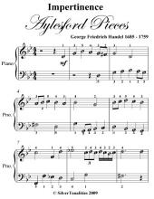 Impertinence Aylesford Pieces - Easy Piano Sheet Music