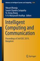 Intelligent Computing and Communication PDF