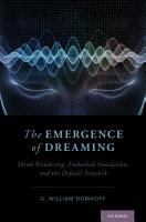 The Emergence of Dreaming PDF