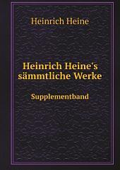 Heinrich Heine's s?mmtliche Werke