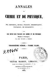 Annales de chimie et de physique: Volume43