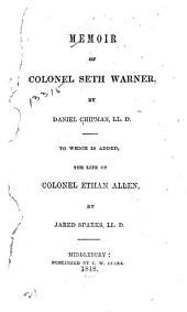 Memoir of Colonel Seth Warner