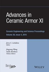 Advances in Ceramic Armor XI