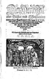 Der Vierde Teil alle Bücher vnd Schrifften des thewren seligen Mans Gottes D.M.L. vom XXVIII. Jar an, bis auffs XXX. Ausgenommen etliche wenige Stück, so zu ende des dritten Theils gesetze sind: Band 4