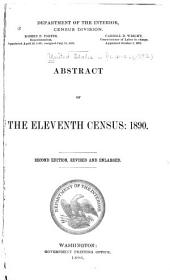 Abstract of the Eleventh Census: 1890: Issue 222