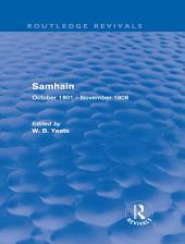 Samhain (Routledge Revivals): October 1901 - November 1908