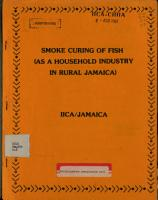 Smoke Curing of Fish  as a Household Industry in Rural Jamaica PDF