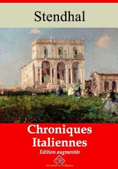 Chroniques italiennes: Nouvelle édition augmentée