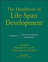 The Handbook of Life Span Development  Volume 2 PDF